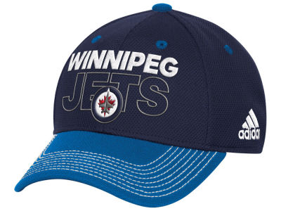 Winnipeg Jets adidas NHL Locker Room Structured Flex Cap