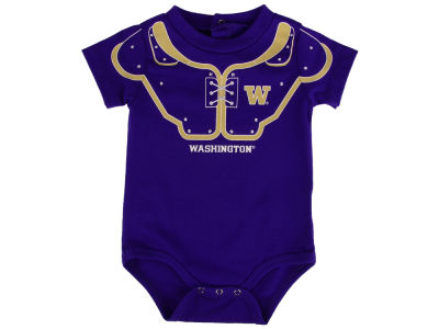 Washington Huskies Outerstuff NCAA Newborn Lil Blocker Football Creeper