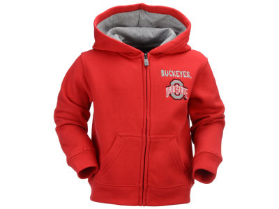 Ohio State Buckeyes Outerstuff NCAA Toddler Red Zone Full Zip Hoodie