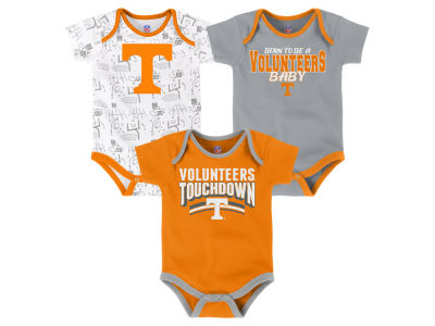 Tennessee Volunteers Outerstuff NCAA Newborn Playermaker 3 Piece Creeper Set