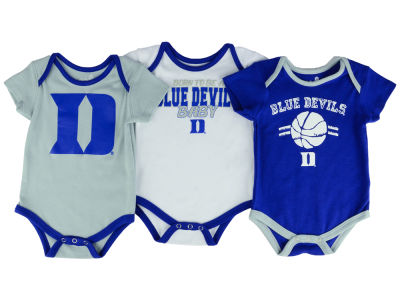Duke Blue Devils Outerstuff NCAA Newborn Basketball 3 Piece Creeper Set