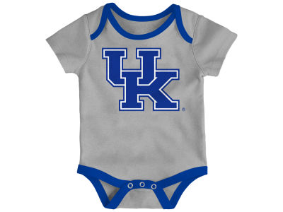 Kentucky Wildcats Outerstuff NCAA Newborn Basketball 3 Piece Creeper Set