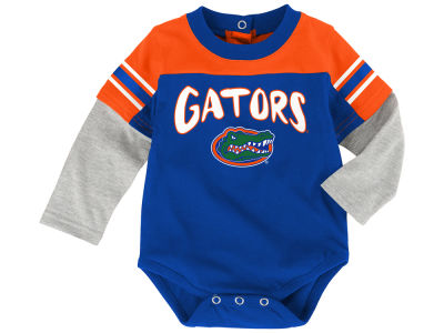 Florida Gators Outerstuff NCAA Newborn Halfback Creeper Pant Set