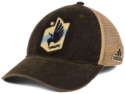 Minnesota United FC adidas MLS Dirty Mesh Easy Adjustable Cap
