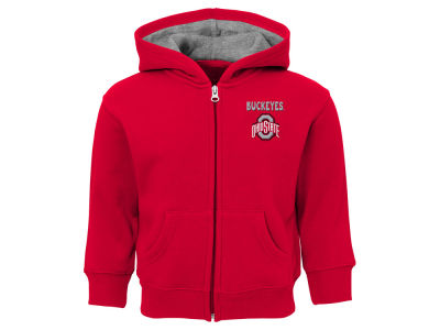 Ohio State Buckeyes Outerstuff NCAA Infant Red Zone Full Zip Hoodie