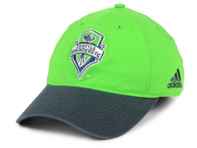 Seattle Sounders FC adidas MLS 2Tone Easy Stretch Cap