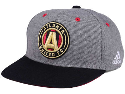 Atlanta United FC adidas Gray Adjustable Cap