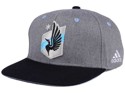 Minnesota United FC adidas Gray Adjustable Cap