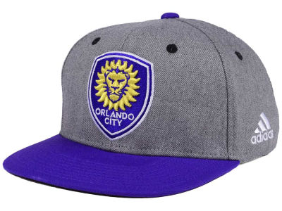 Orlando City SC adidas Gray Adjustable Cap