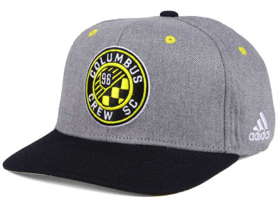 Columbus Crew SC adidas Gray Adjustable Cap