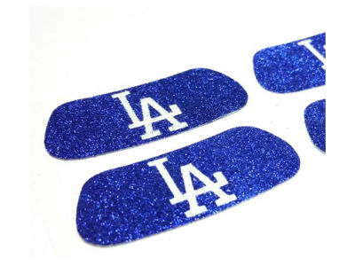 Los Angeles Dodgers 2 Pair Glitter Eyeblack Sticker