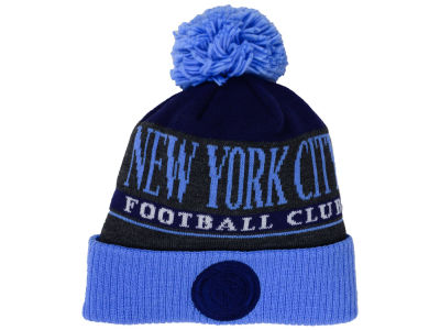 New York City FC adidas MLS Pom Knit