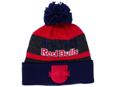 New York Red Bulls adidas MLS Pom Knit