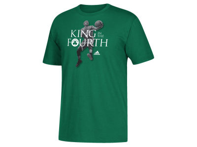 Boston Celtics Isaiah Thomas adidas NBA Men's King in the Fourth T-Shirt