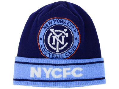 New York City FC adidas MLS Cuff Knit