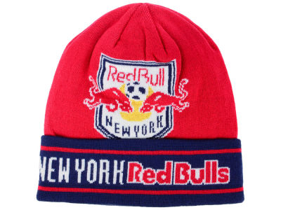 New York Red Bulls adidas MLS Cuff Knit