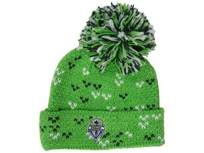 Seattle Sounders FC adidas MLS Women's Pom Knit