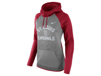 St. Louis Cardinals Nike MLB Women's Thermal Pullover Hooded Sweatshirt