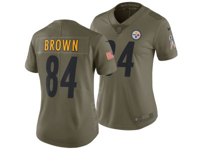 Pittsburgh Steelers Antonio Brown Nike 2017 NFL Women's Salute To Service Jersey