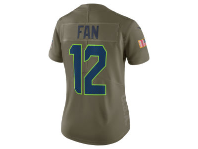 Seattle Seahawks Nike 2017 NFL Women's Salute To Service Jersey
