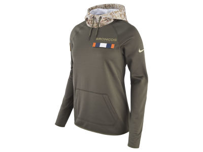 Denver Broncos Nike 2017 NFL Women's Salute To Service Hoodie