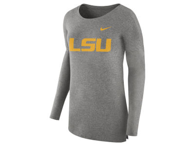 LSU Tigers Nike NCAA Women's Cozy Long Sleeve T-Shirt