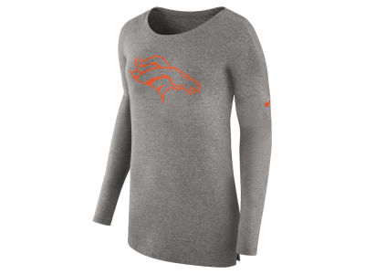 Denver Broncos Nike NFL Women's Cozy Long Sleeve T-shirt