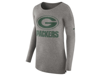 Green Bay Packers Nike NFL Women's Cozy Long Sleeve T-shirt