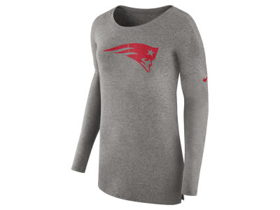 New England Patriots Nike NFL Women's Cozy Long Sleeve T-shirt