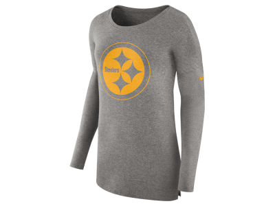 Pittsburgh Steelers Nike NFL Women's Cozy Long Sleeve T-shirt