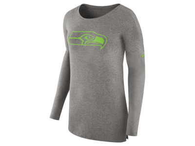 Seattle Seahawks Nike NFL Women's Cozy Long Sleeve T-shirt