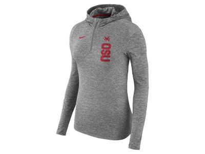 ac42db717d86 Nike NCAA Women s Dri-fit Element Hoodie Apparel at BuckeyeCorner.com