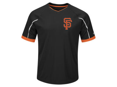 San Francisco Giants Majestic MLB Men's Big and Tall Emergence T-shirt