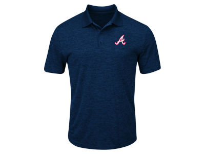 Atlanta Braves MLB Men's Big & Tall First Hit Polo