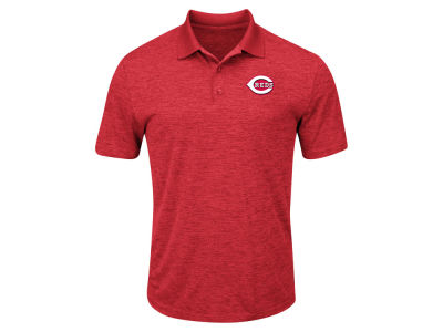 Cincinnati Reds MLB Men's Big & Tall First Hit Polo