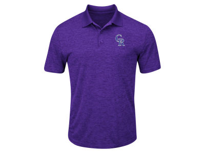 Colorado Rockies Majestic MLB Men's Big & Tall First Hit Polo