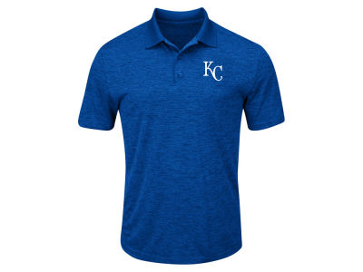 Kansas City Royals Majestic MLB Men's Big & Tall First Hit Polo