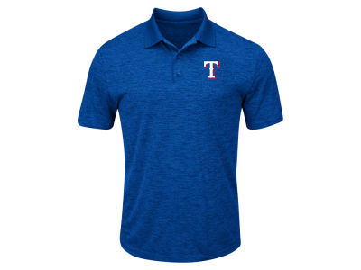 Texas Rangers Majestic MLB Men's Big & Tall First Hit Polo