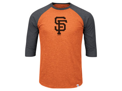 San Francisco Giants MLB Men's Big & Tall Grueling Raglan T-Shirt