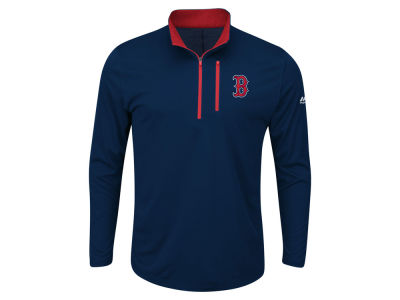 Boston Red Sox MLB Men's Big and Tall Six-Four-Three 1/2 Zip