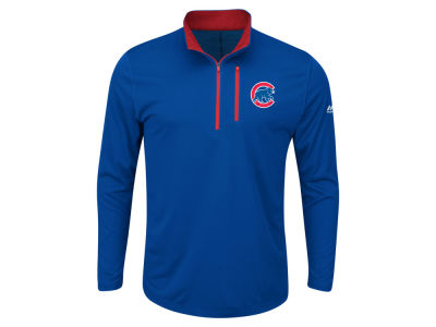 Chicago Cubs MLB Men's Big and Tall Six-Four-Three 1/2 Zip