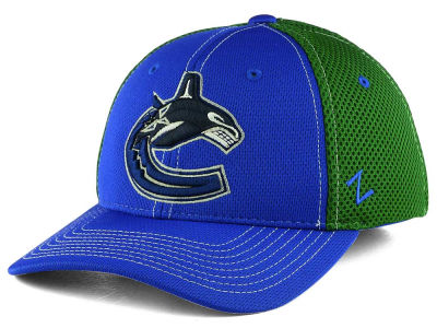 Vancouver Canucks Zephyr NHL Rally Zfit Flex Cap