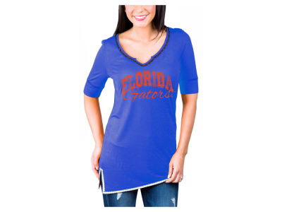 Florida Gators Gameday Couture NCAA Women's Beaded Neckline T-Shirt