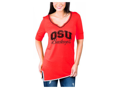 Gameday Couture NCAA Women's Beaded Neckline T-Shirt
