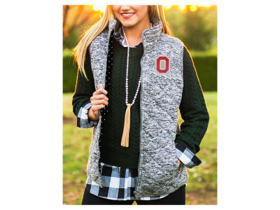 Ohio State Buckeyes Gameday Couture NCAA Women's City Chic Quilted Vest