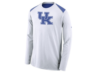 Kentucky Wildcats Nike NCAA Men's Basketball Long Sleeve Shooter T-Shirt