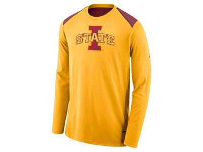Iowa State Cyclones Nike NCAA Men's Basketball Long Sleeve Shooter T-Shirt