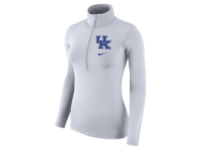 Kentucky Wildcats Nike NCAA Women's Hyperwarm Quarter Zip Pullover