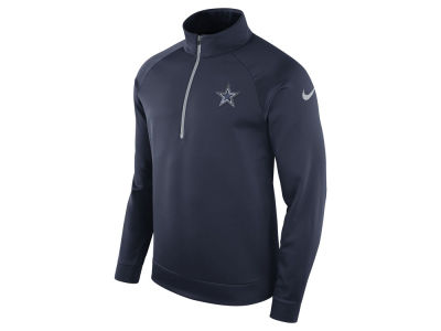 Dallas Cowboys Nike NFL Men's Lightweight Therma Quarter Zip Pullover