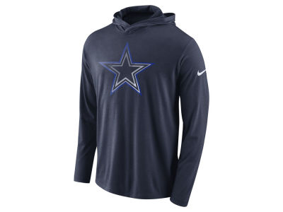 Dallas Cowboys Nike NFL Men's Blend Hooded Long Sleeve T-Shirt